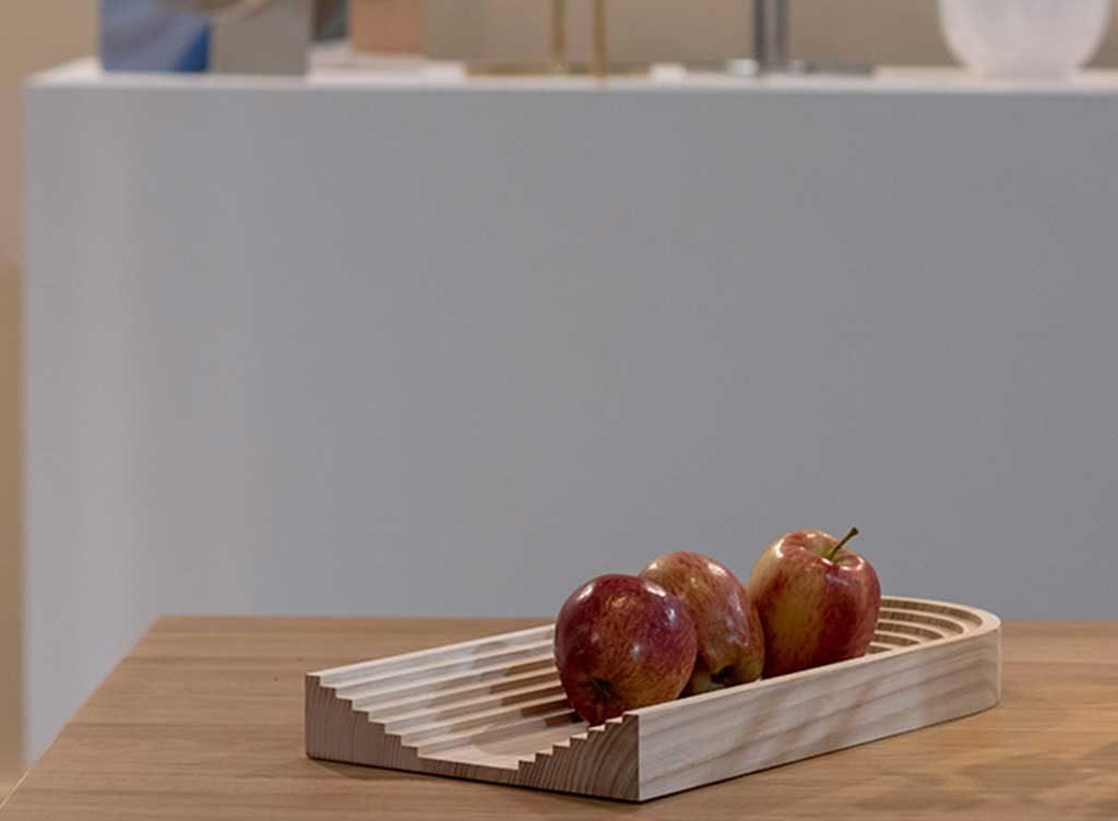 porta frutta legno gradini