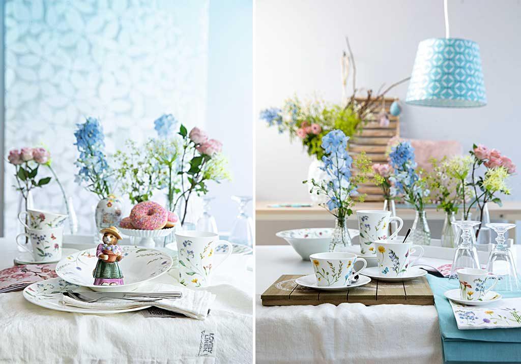 servizio tavola primavera