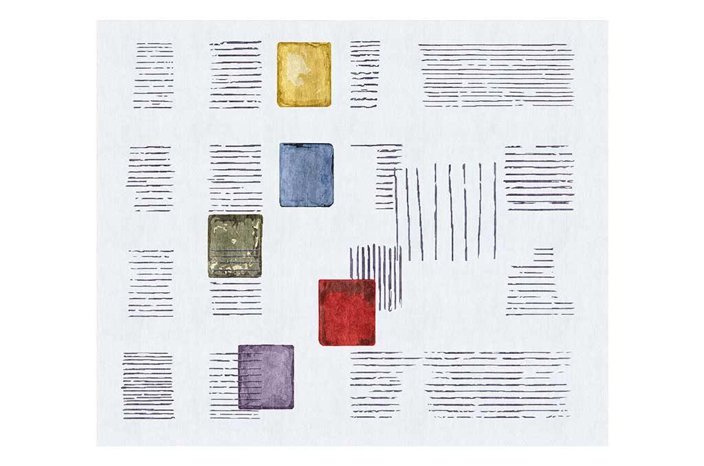 tappeto disegni colorati