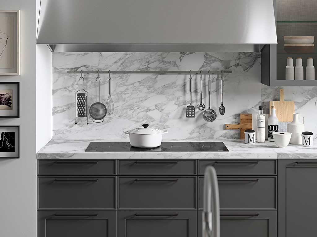 top e schienale cucina marmo carrara