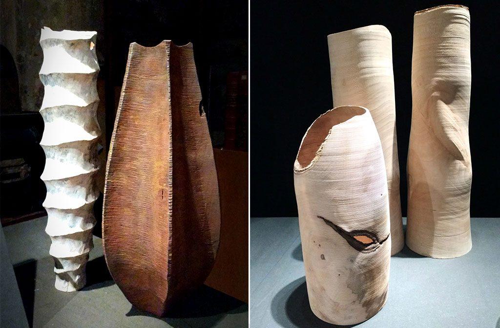 vasi legno fatti a mano