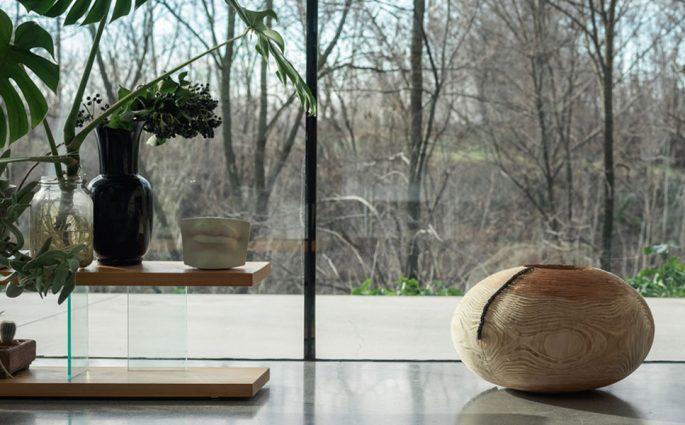 vaso legno design