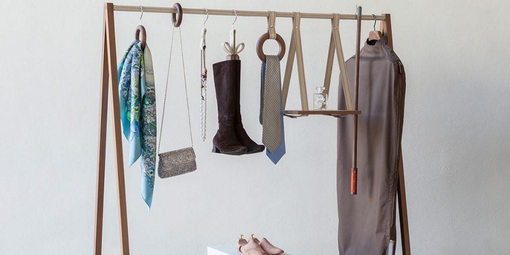 accessori organizzazione guardaroba legno