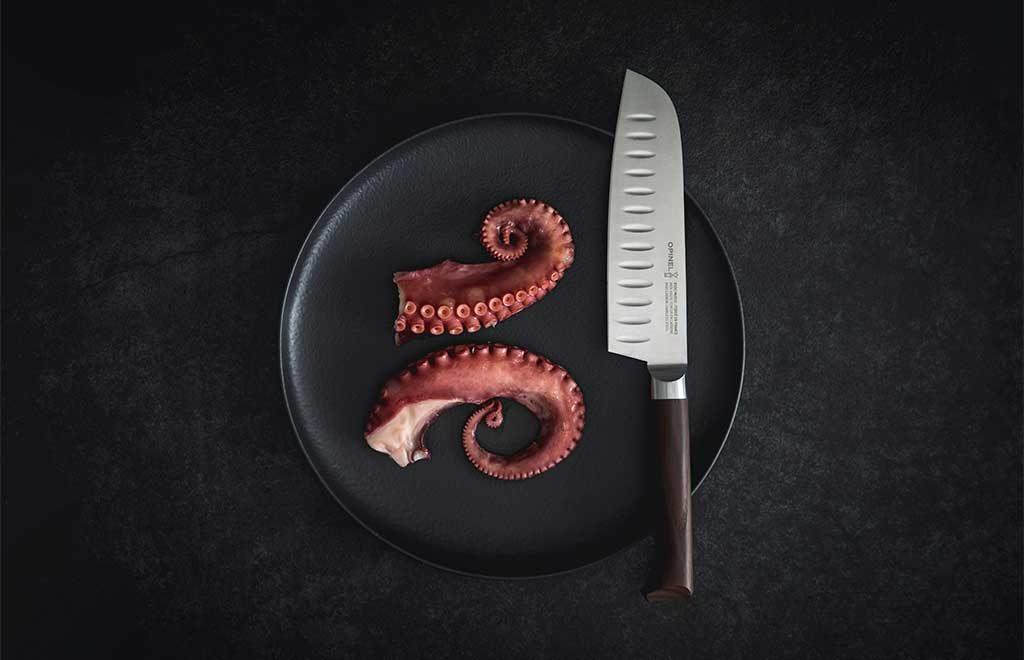 coltello santoku polpo