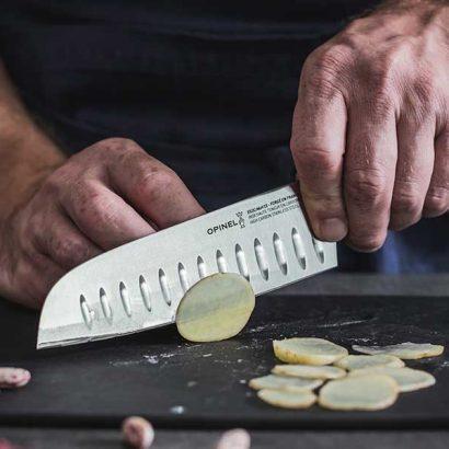coltello santoku taglio patate