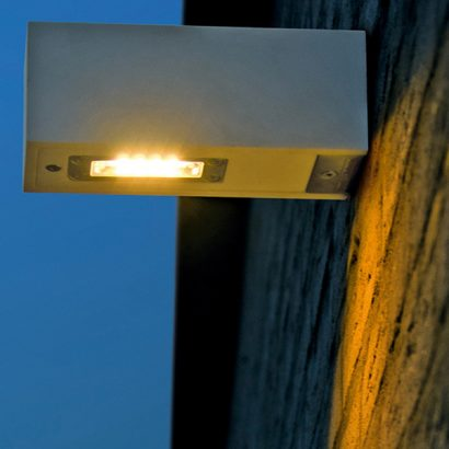 lampada parete esterno led