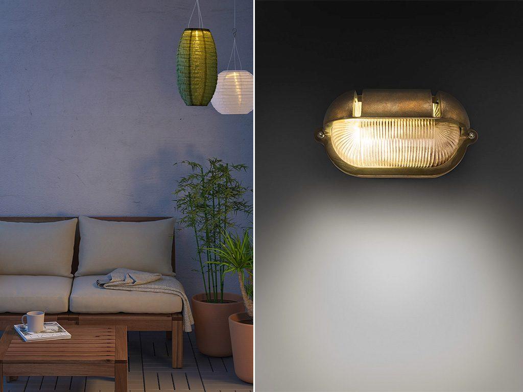 lampade parete e sospese esterno