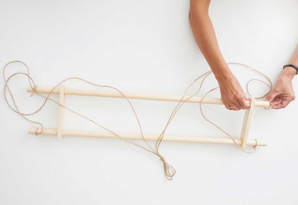 passare spaghi legno