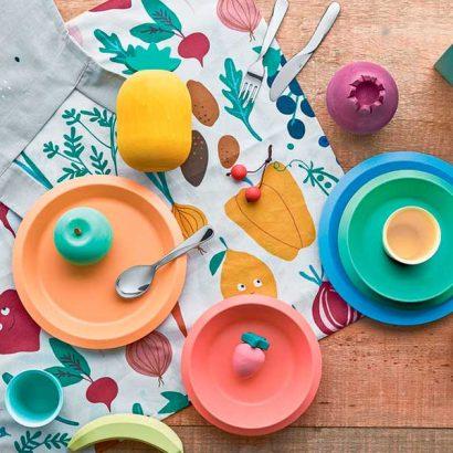 piatti posate portapranzo picnic bambini