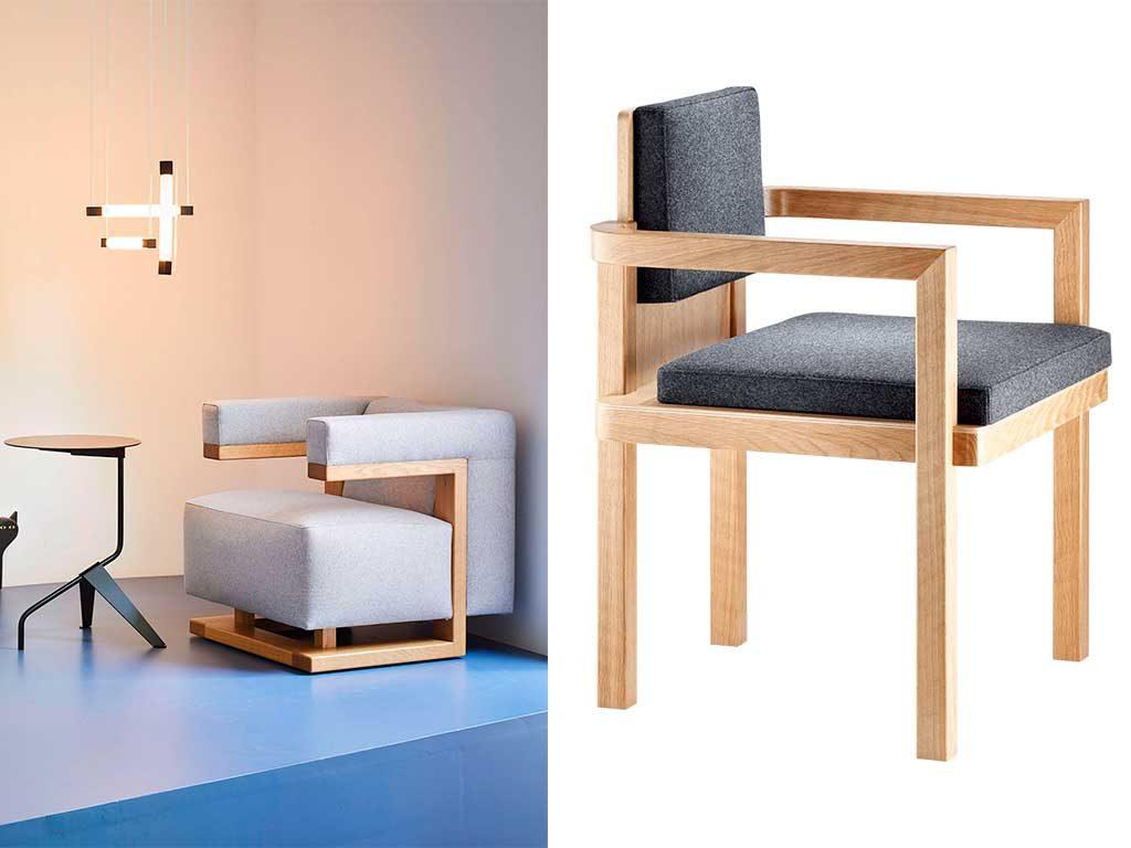 poltrona e sedia gropius