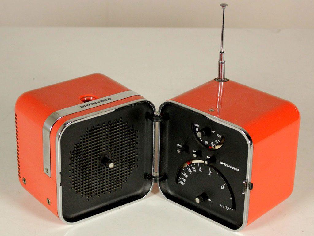 radio cubo zanuso