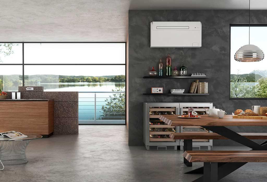 condizionatore parete cucina