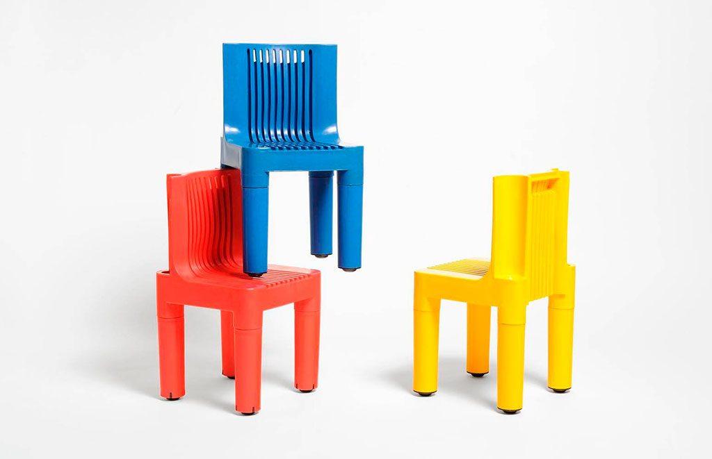 sedia impilabile zanuso sapper