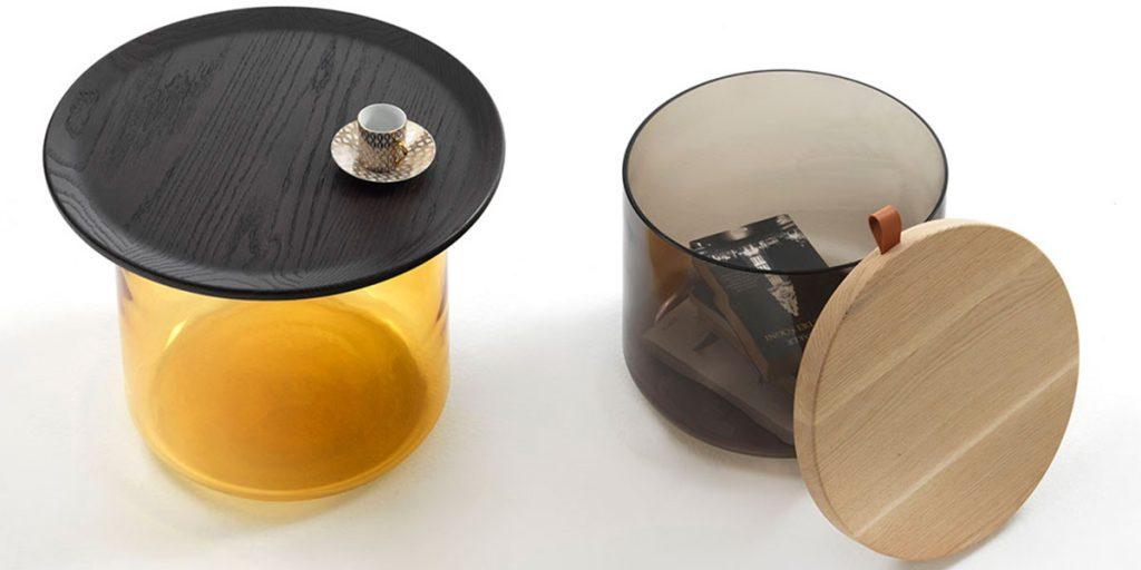 tavolini contenitori design
