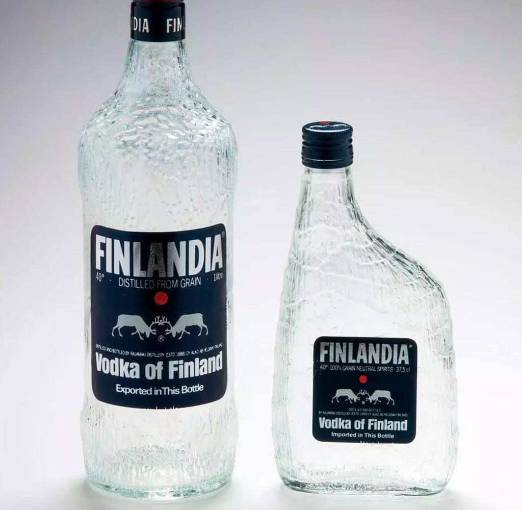 bottiglie vodka finlandia wirkkala