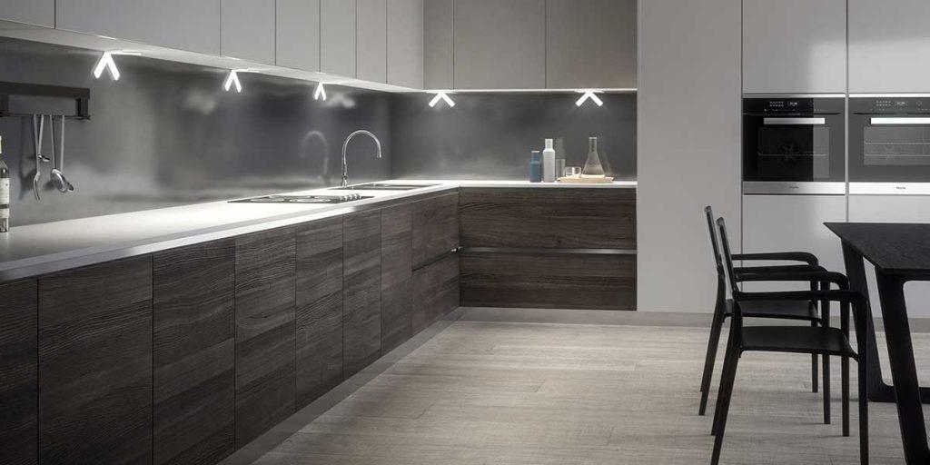 illuminazione sottopensile cucina