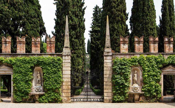 ingresso giardino giusti verona