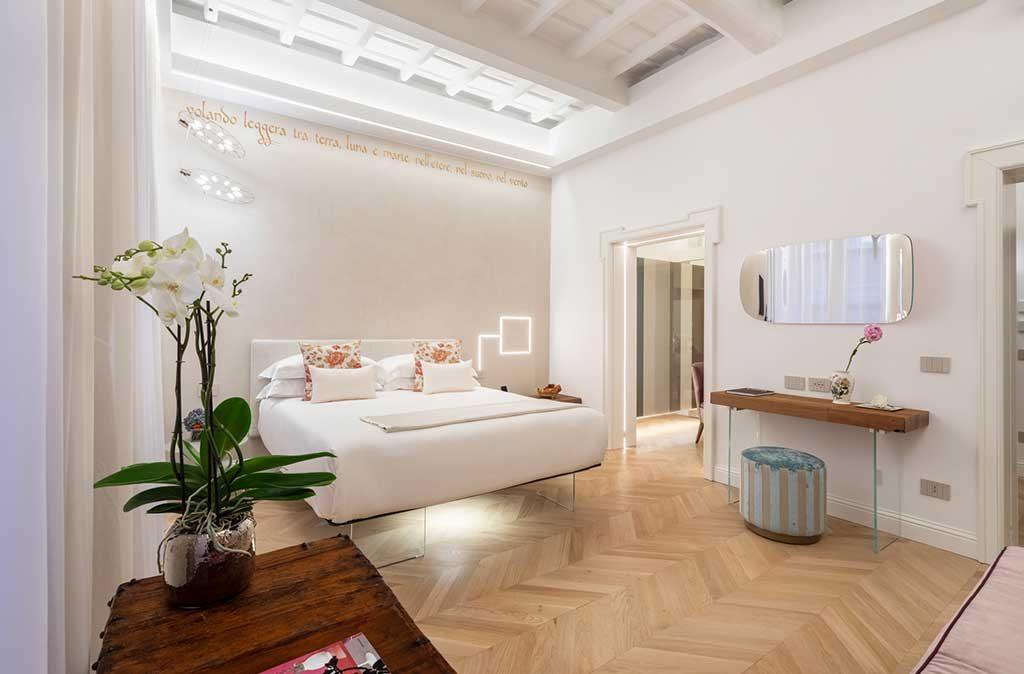 interno stanza hotel design