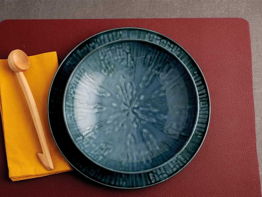 piatti fusion blu