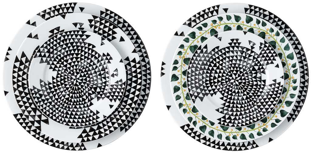 piatti ceramica decorati