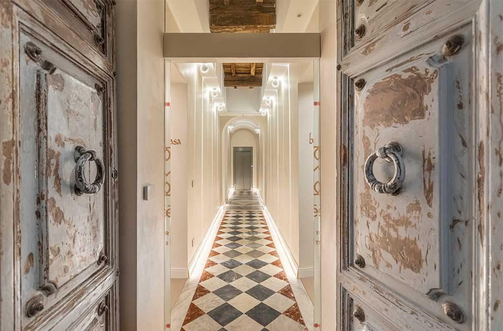 ristrutturazione interno hotel roma