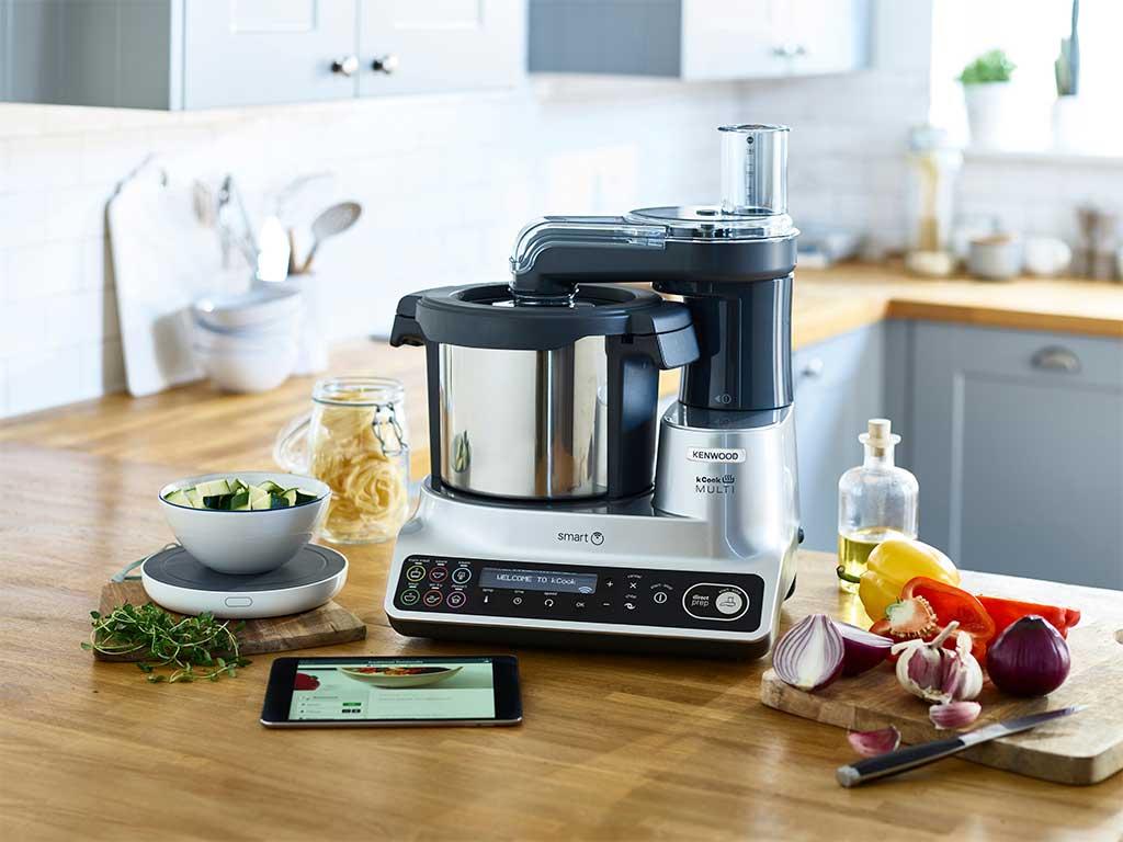 robot cucina multifunzione smart
