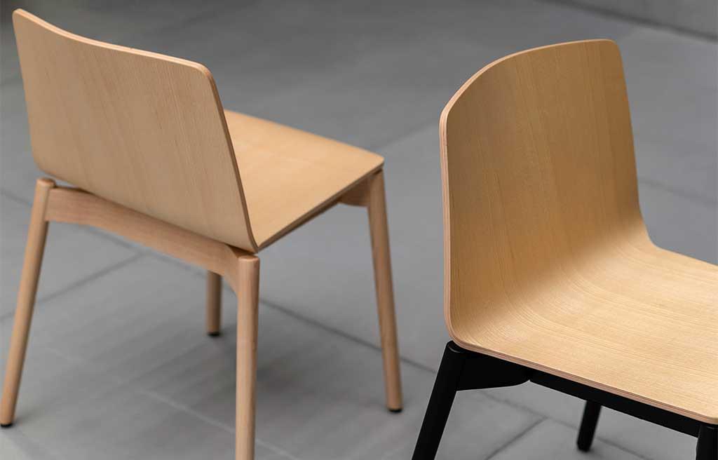sedie impilabili legno