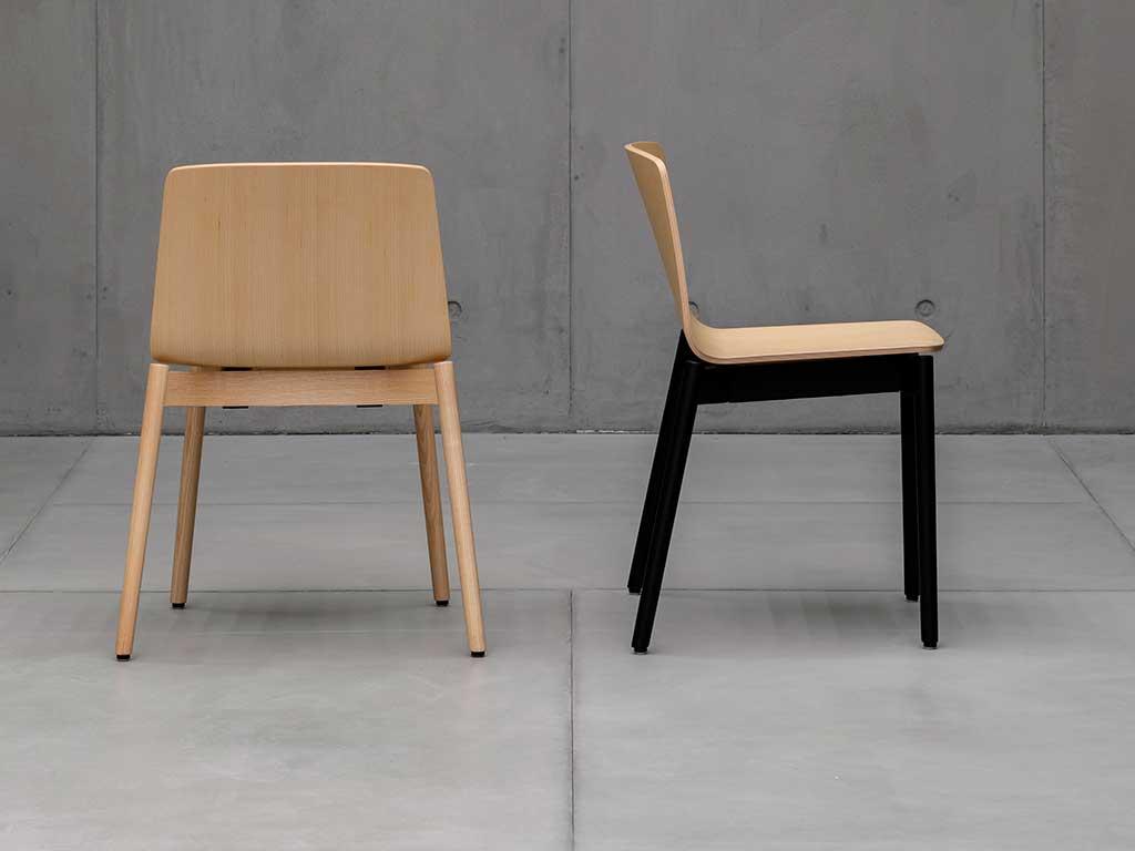 sedie legno massello