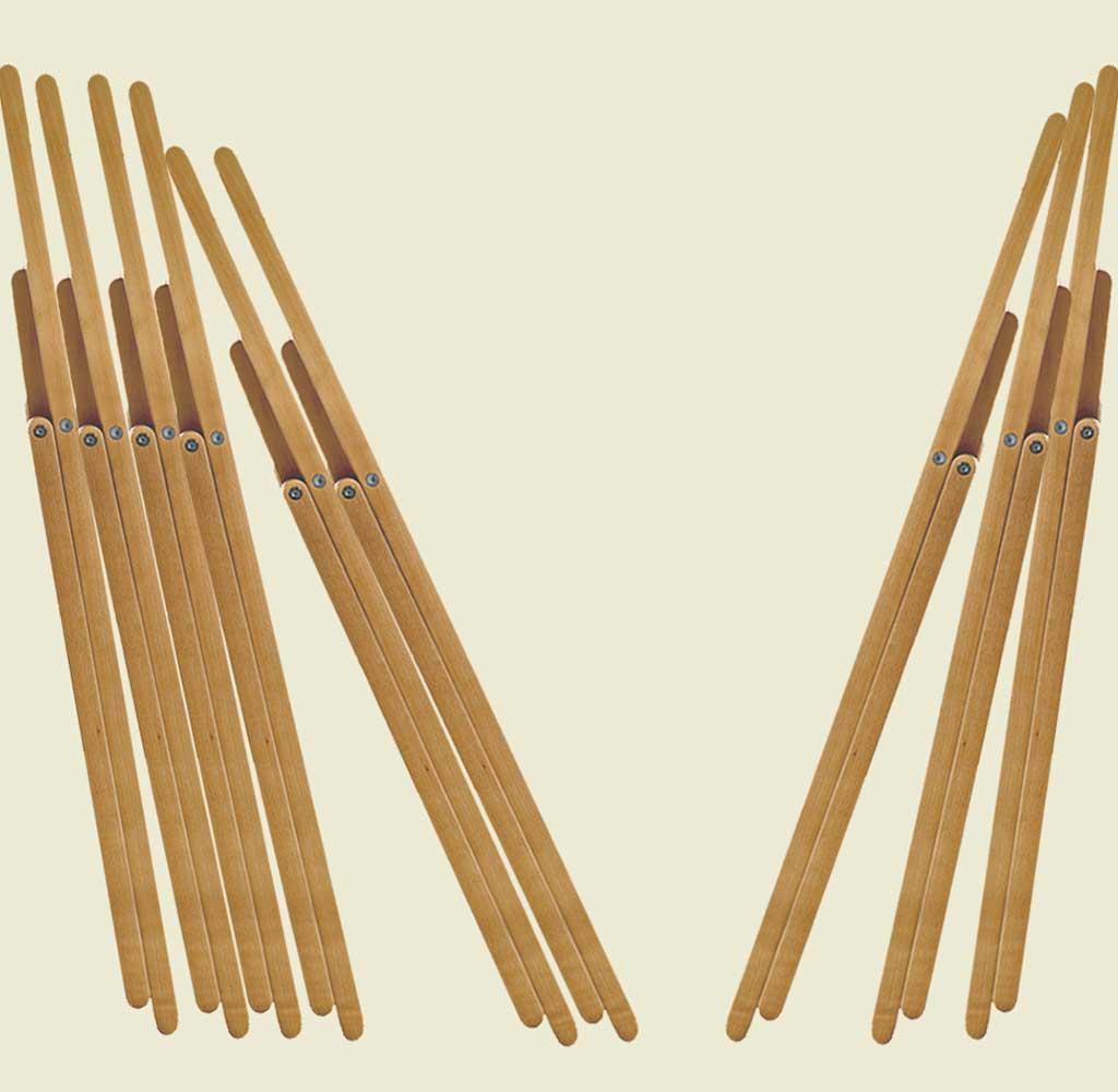 sedie pieghevoli legno faggio