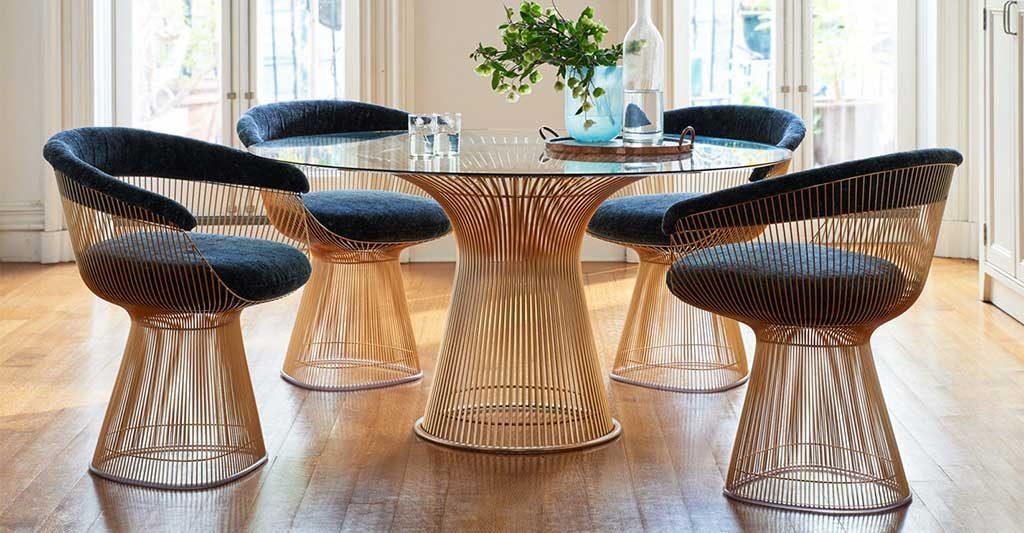 sedie tavolo platner