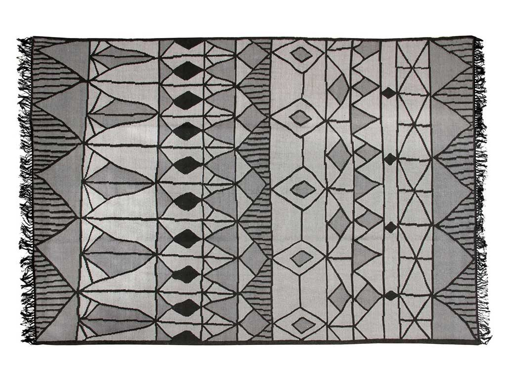 tappeto disegno grigio