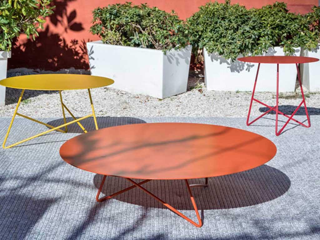 tavolini rotondi esterno