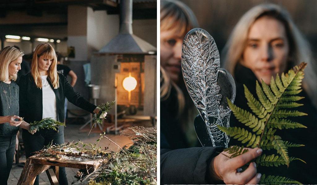 lavorazione vetro boemia herbarium
