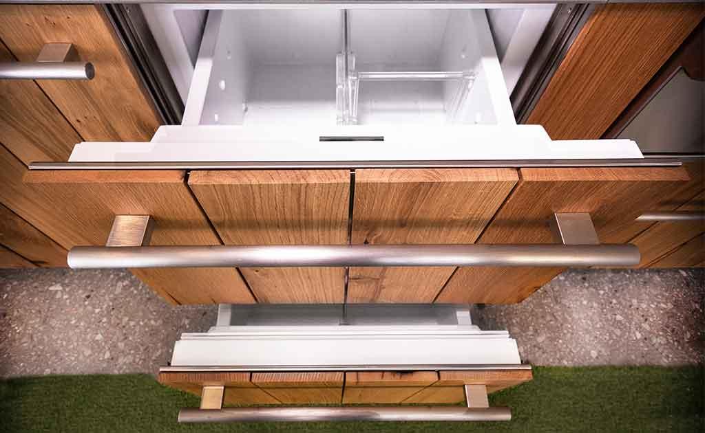 cassetti refrigerati cucina esterno