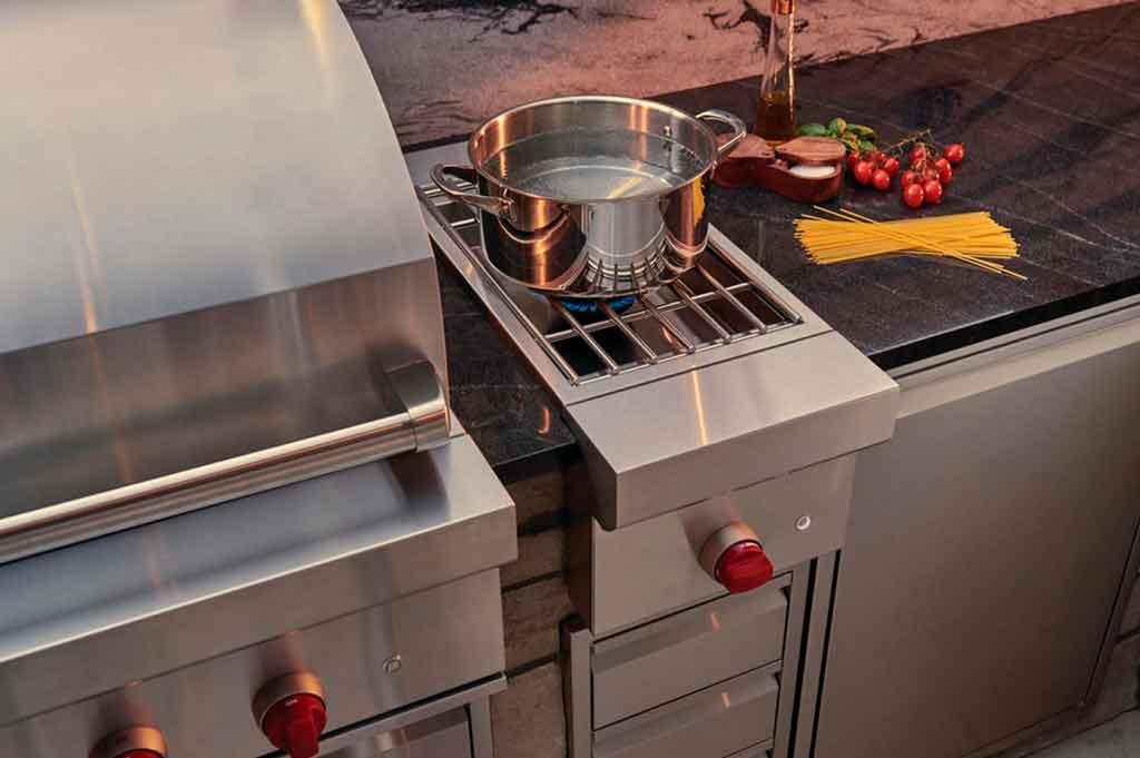 bruciatore a gas da esterno cucina
