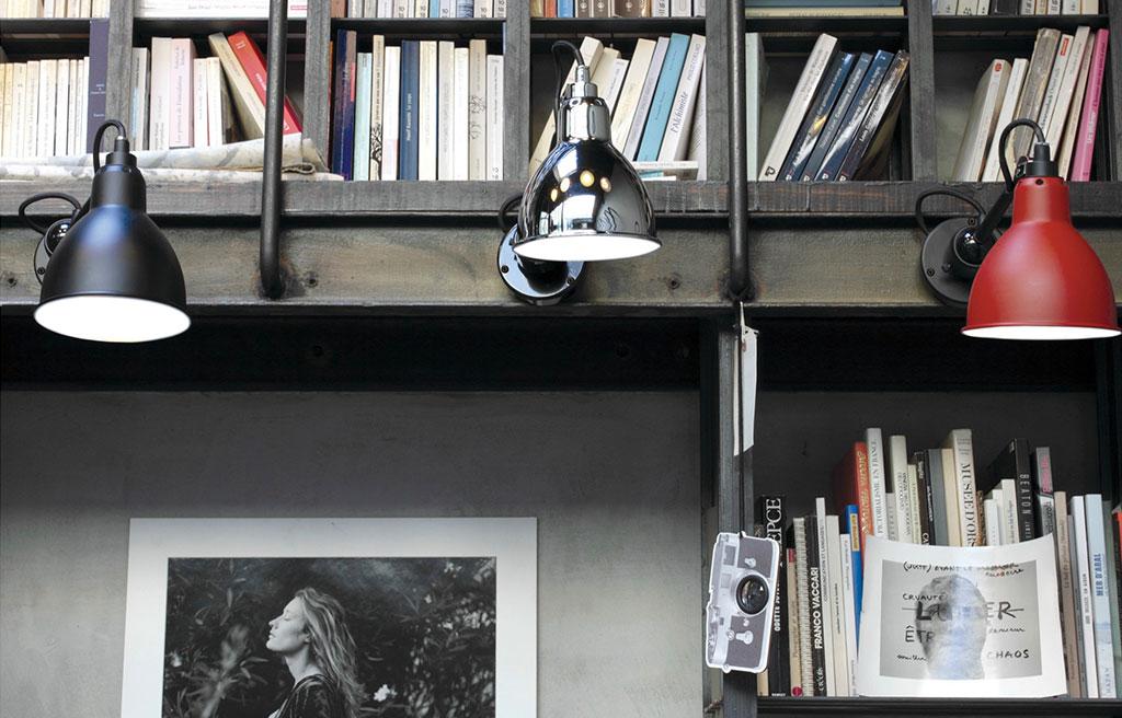 lampade da parete colorate