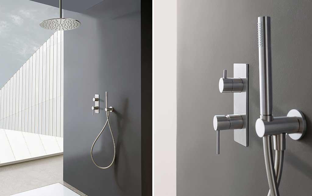 soffione doccia e doccino