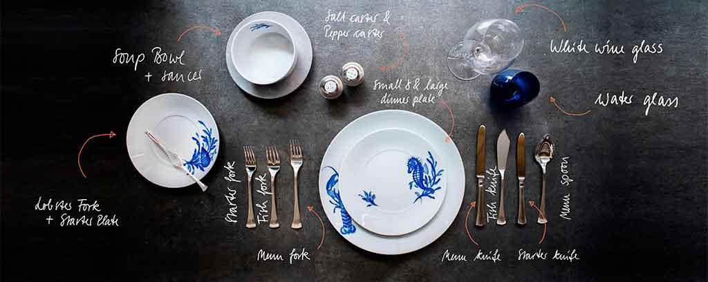 tableware schematic meissen