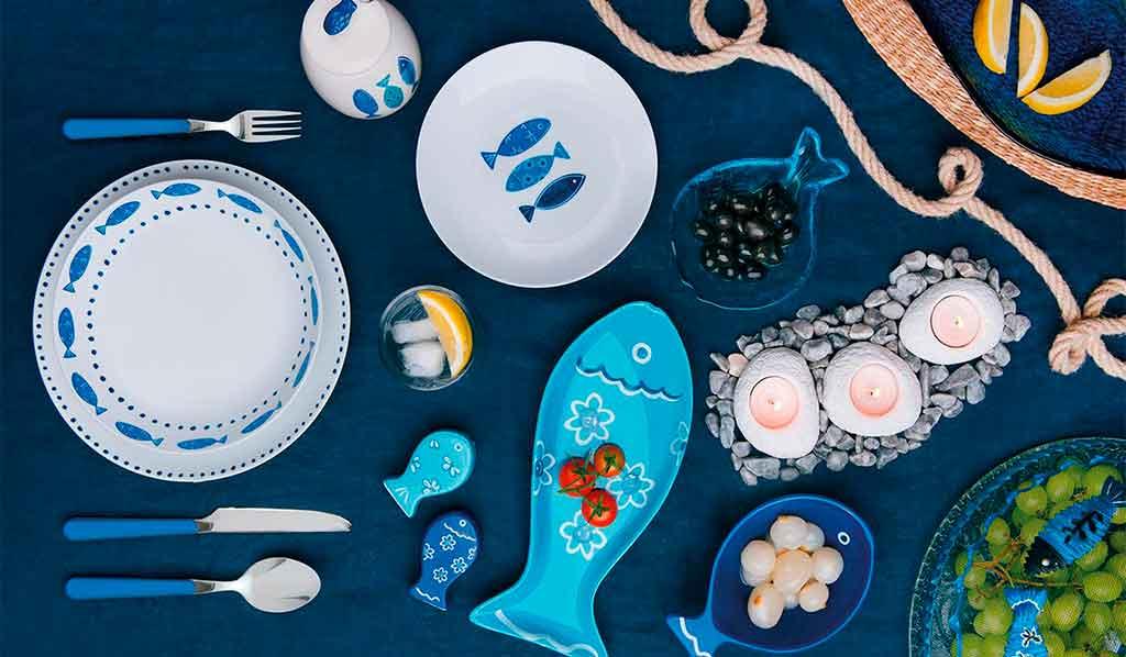tableware pesci