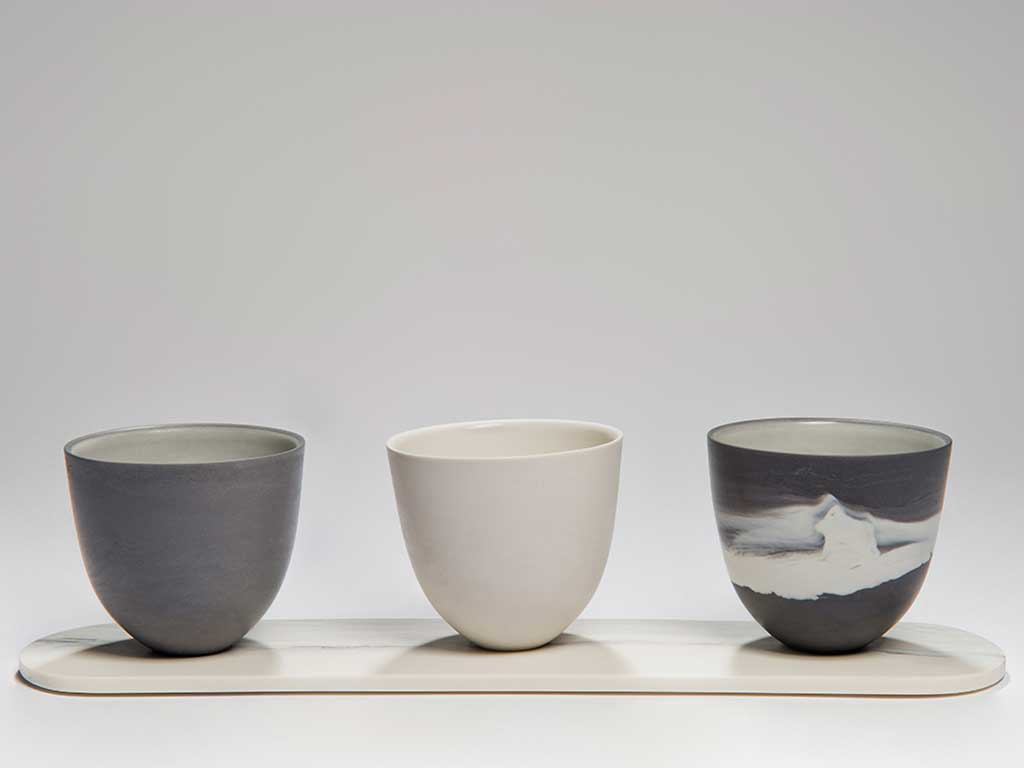 tris vasi piccoli design
