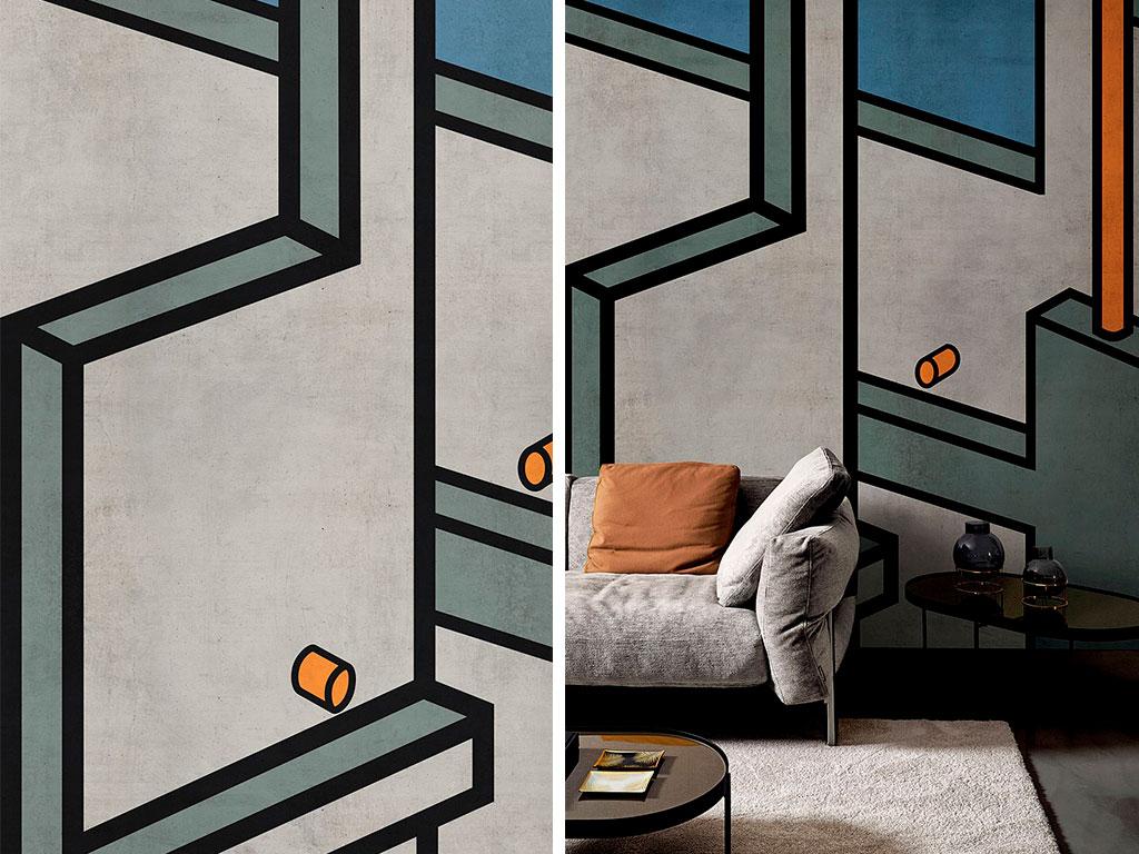 wallpaper design microcosmo