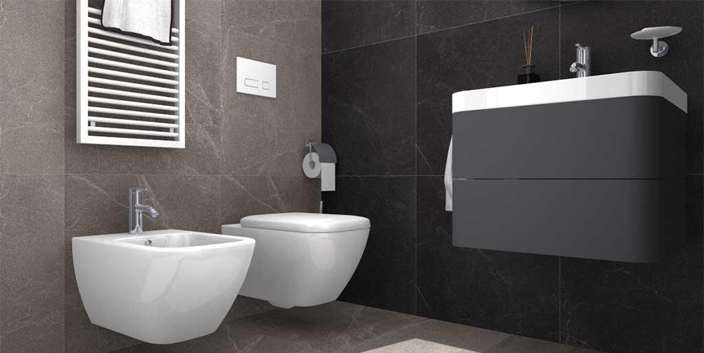 bagno compatto di design