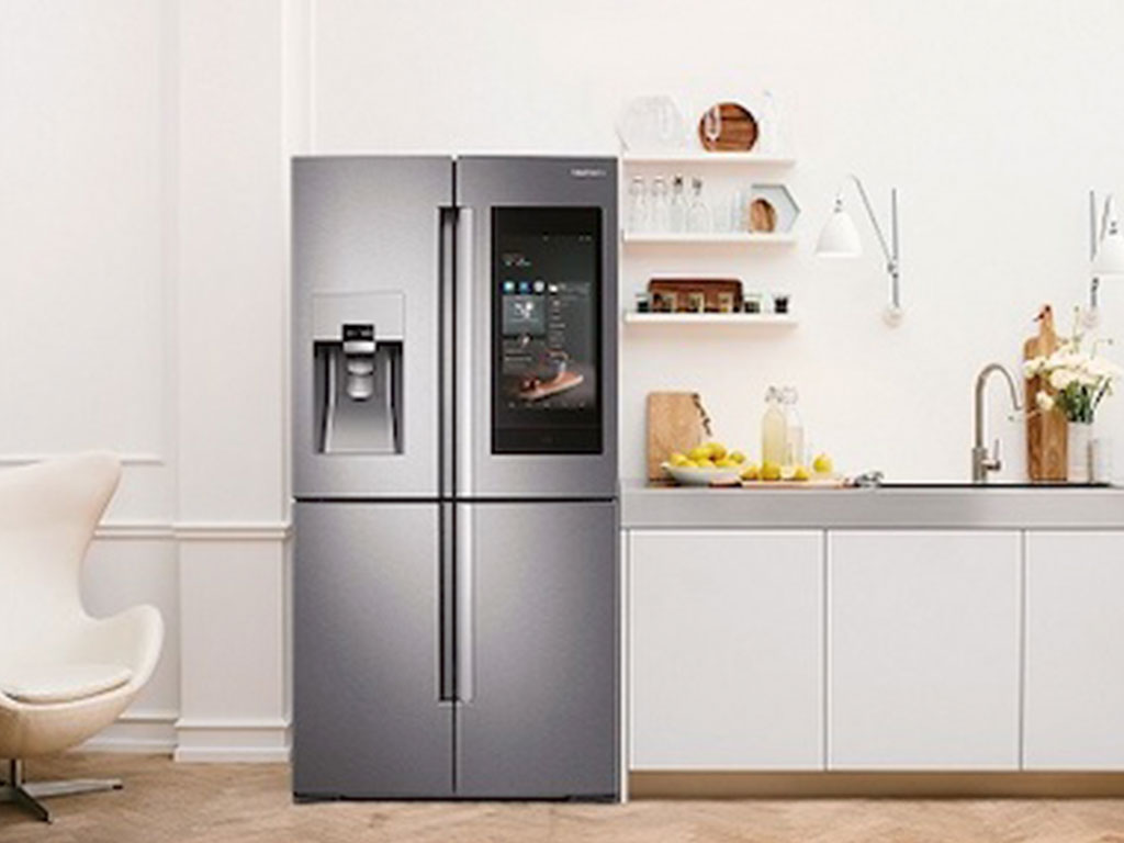 frigo quattro porte display