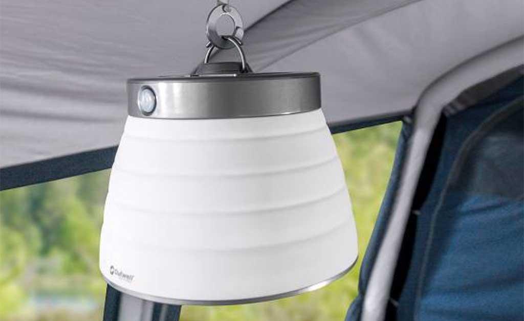 lampada campeggio appendere
