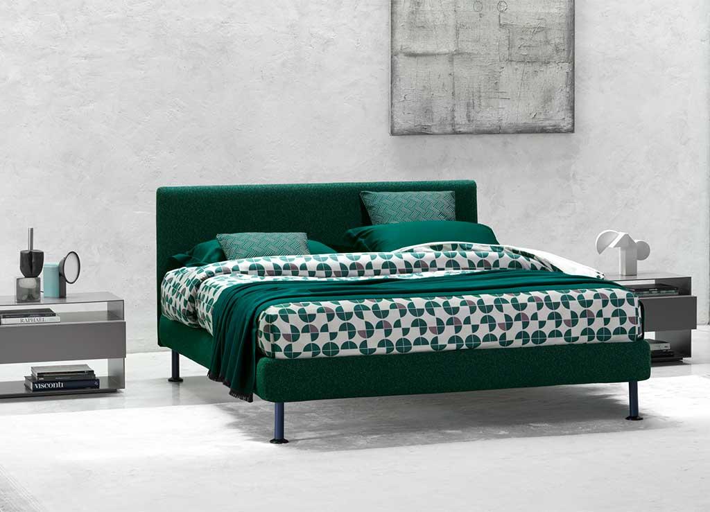 letto verde