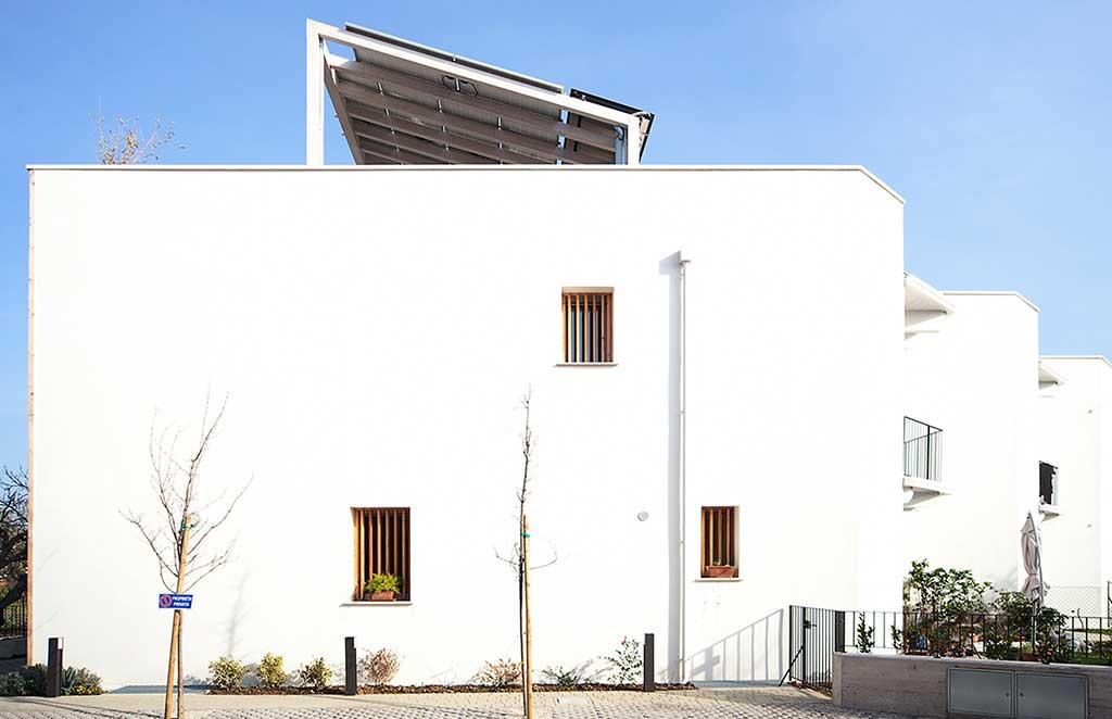 pannelli fotovoltaici villetta