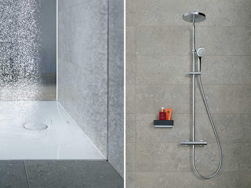 piatto doccia filo pavimento scarico
