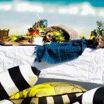 picnic spiaggia allestire