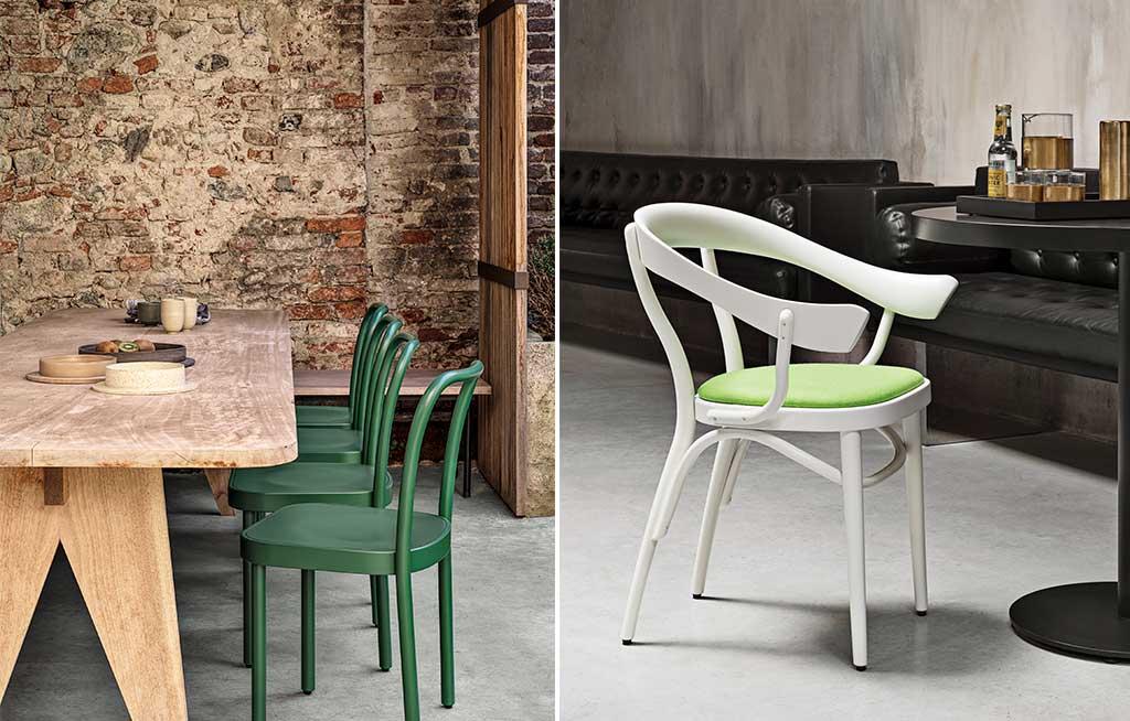 sedie verdi design
