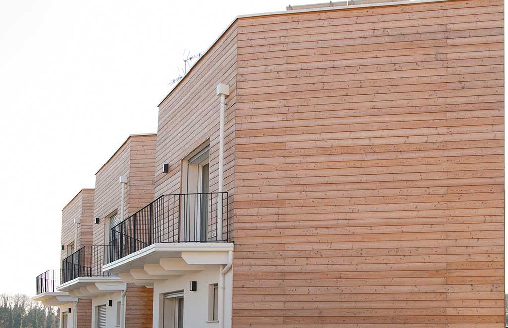 villette schiera esterno legno